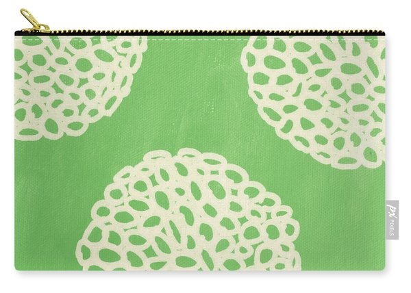 Sage Garden Bloom Carry-all Pouch