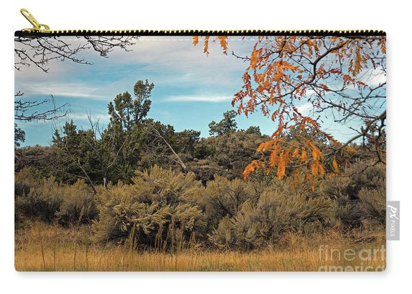 Sagebrush And Lava Carry-all Pouch