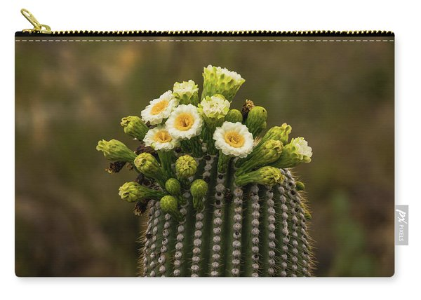 Saguaro National Park Cactus Blooms Carry-all Pouch