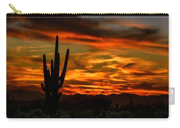 Saguaro Sunset H51 Carry-all Pouch