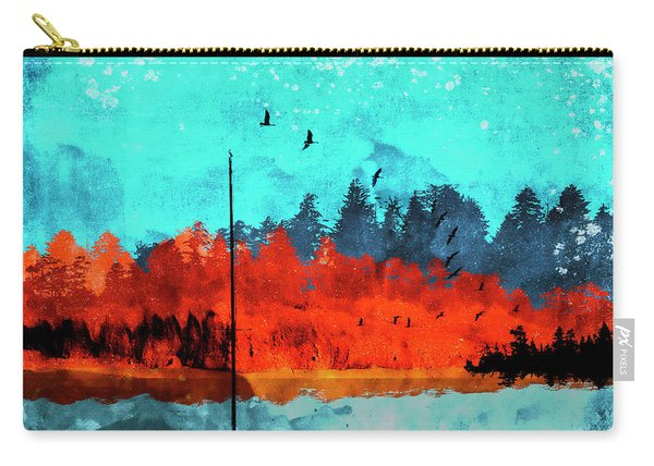 Sailboat Daybreak Lake Carry-all Pouch