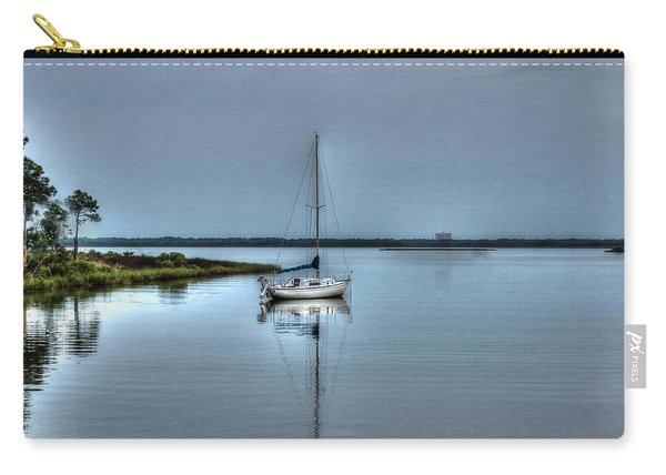 Sailboat Off Plash Carry-all Pouch