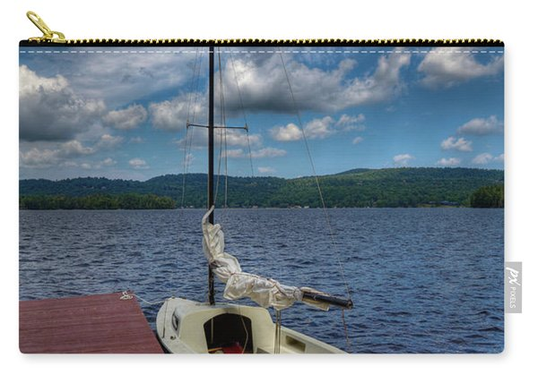 Sailboat On First Lake Carry-all Pouch