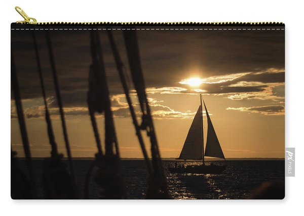 Sailboat On The Horizon Carry-all Pouch