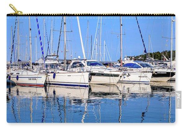 Sailboat Reflections - Rovinj, Croatia  Carry-all Pouch