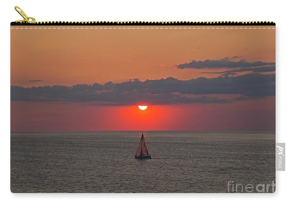 Sailboat Sunset Carry-all Pouch