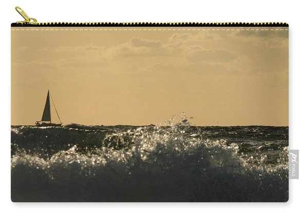Sailboat Surf Delray Beach Florida Carry-all Pouch