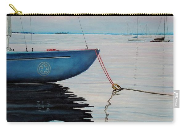 Sailboat Tied Carry-all Pouch