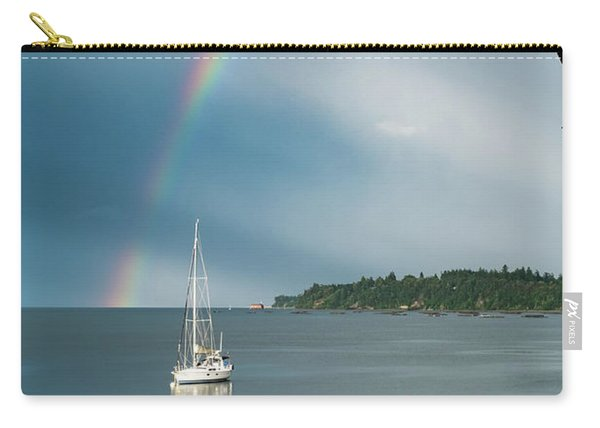 Sailboat Under The Rainbow Carry-all Pouch