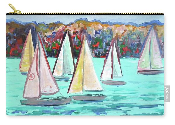Sailboats In Spain I Carry-all Pouch