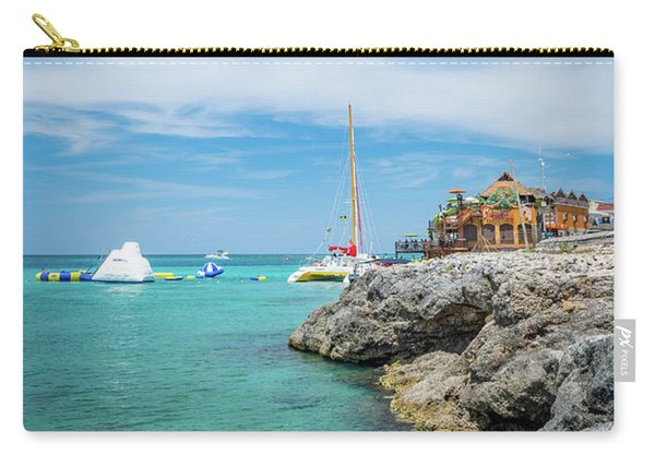 Coastline Sailing In Montego Bay Carry-all Pouch