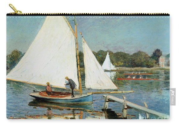 Sailing At Argenteuil Carry-all Pouch