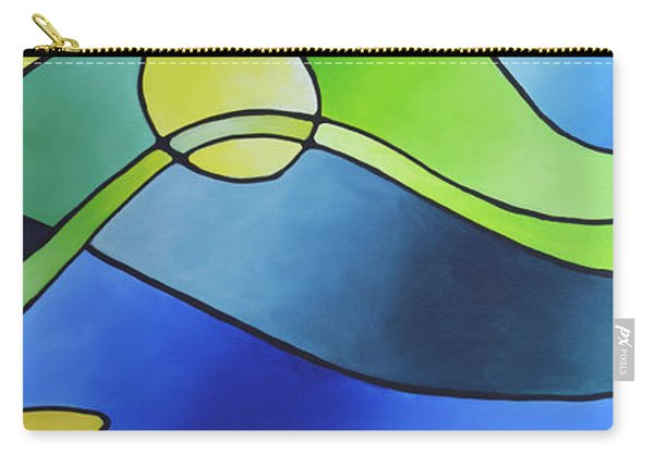 Sailing Away, Canvas Three Carry-all Pouch