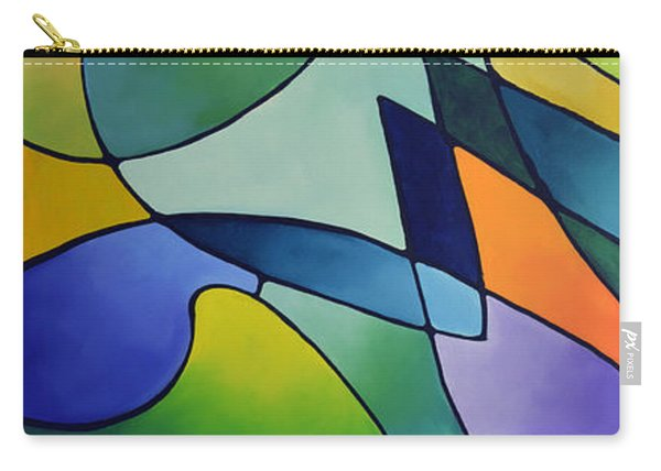 Sailing Away, Canvas One Carry-all Pouch