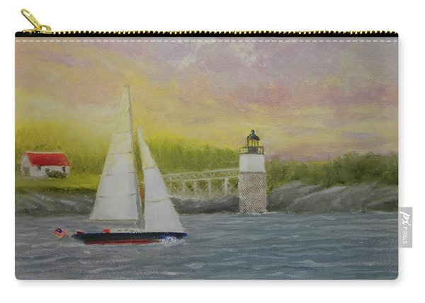 Sailing By Ram Island Carry-all Pouch