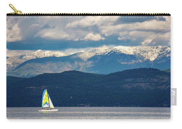 Sailing Flathead Lake Carry-all Pouch