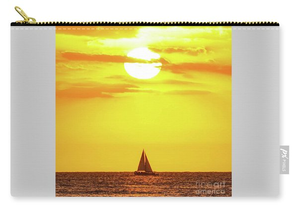 Sailing In Hawaiian Sunshine Carry-all Pouch