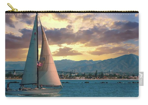 Sailing In San Diego Carry-all Pouch