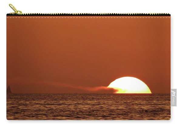 Sailing In The Sunset Carry-all Pouch
