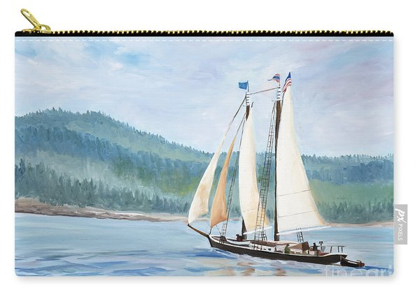 Sailing Into Castine Harbor Carry-all Pouch