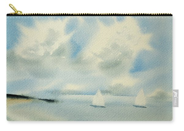 Sailing Into A Calm Anchorage Carry-all Pouch