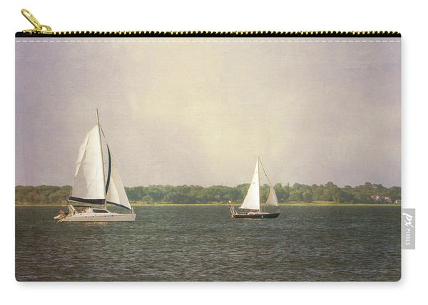 Carry-all Pouch featuring the photograph Sailing by Michael Colgate