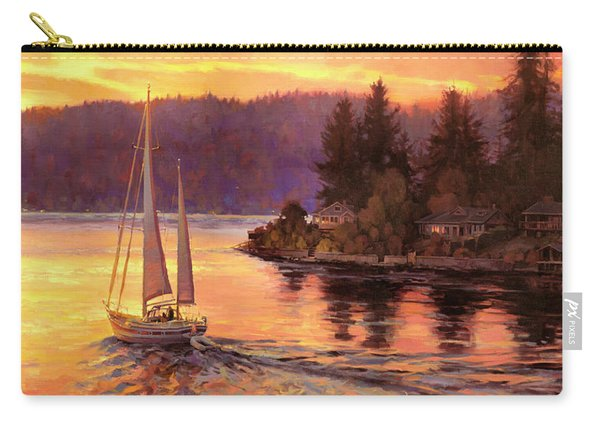 Sailing On The Sound Carry-all Pouch