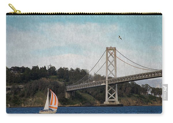 Sailing The Bay Carry-all Pouch