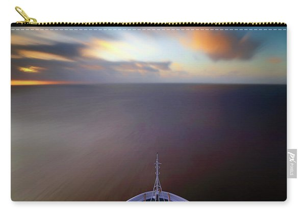 Sailing The Caribbean - Cruise Ship - Sunrise - Seascape Carry-all Pouch