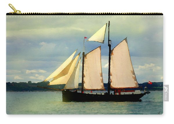 Sailing The Sunny Sea Carry-all Pouch