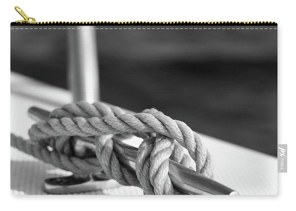 Sailor's Knot Square Carry-all Pouch
