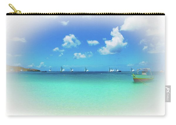 Sails In The Wind Sandy Ground Anguilla Carry-all Pouch