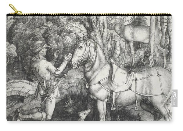 Saint Eustace Carry-all Pouch