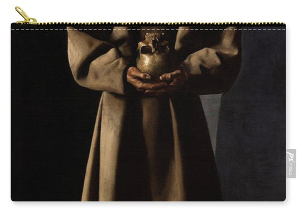 Saint Francis Of Assisi In His Tomb Carry-all Pouch