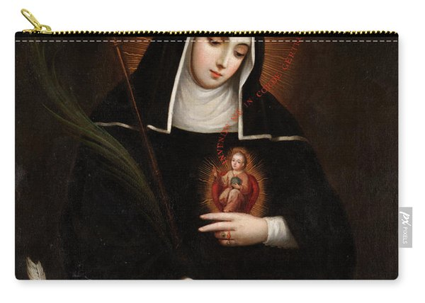 Saint Gertrude Carry-all Pouch