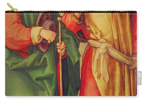 Saint Joseph And Saint Joachim Carry-all Pouch