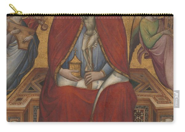 Saint Mary Magdalen Holding A Crucifix Carry-all Pouch