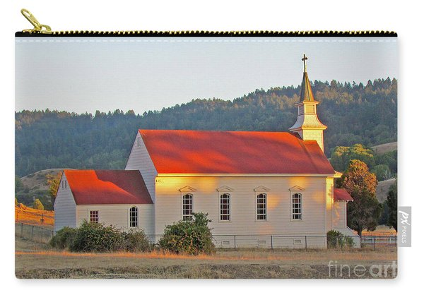 St. Mary's Church At Sunset Carry-all Pouch