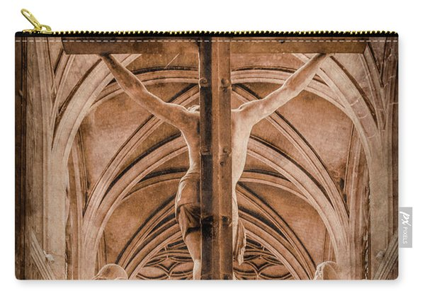 Paris, France - Saint Merri's Cross II Carry-all Pouch