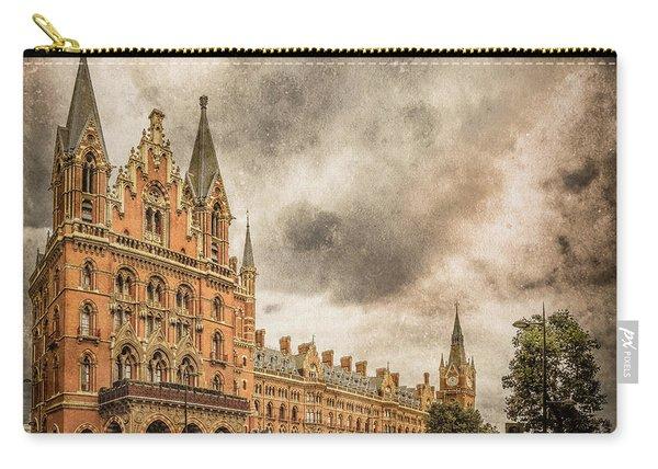 London, England - Saint Pancras Station Carry-all Pouch