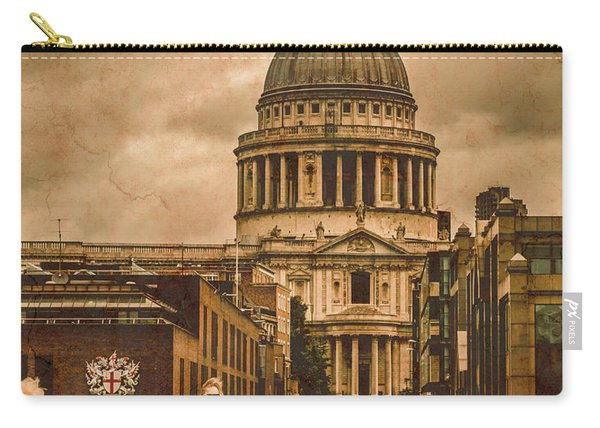 London, England - Saint Paul's In The City Carry-all Pouch