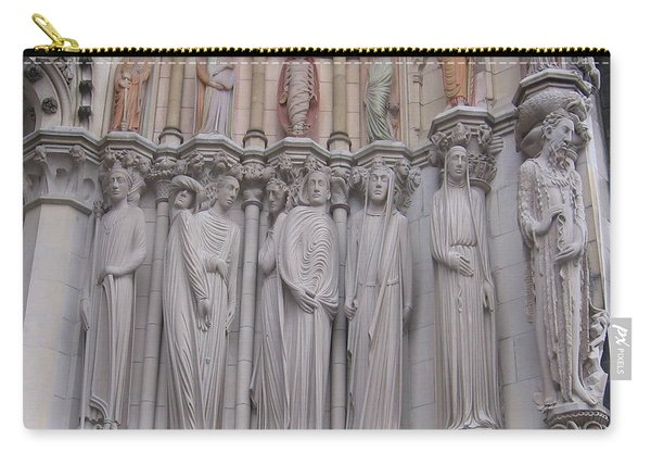 Saints At St. John The Divine Carry-all Pouch