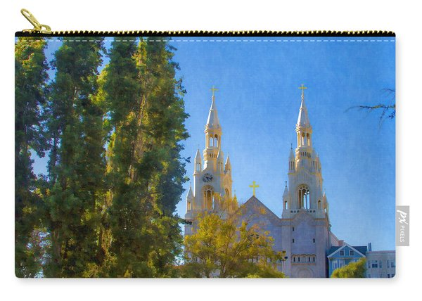 Saints Peter And Paul Church Carry-all Pouch