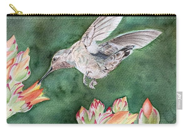 Saki's Visit Carry-all Pouch