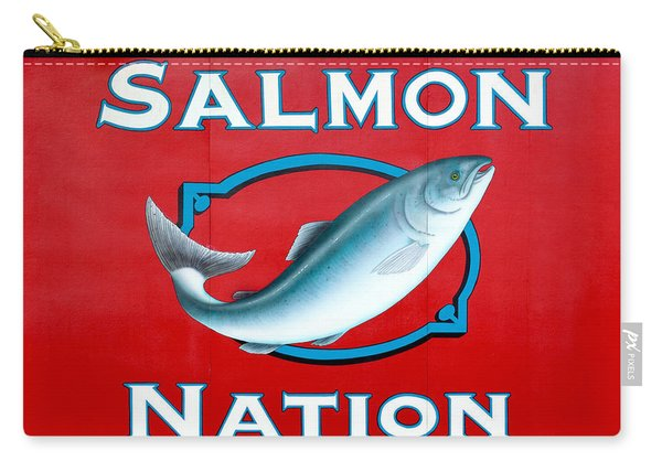 Salmon Nation Carry-all Pouch