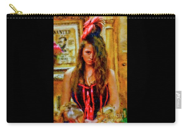 Saloon Girl Carry-all Pouch
