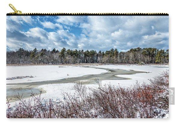 Salt Marsh Meander Carry-all Pouch