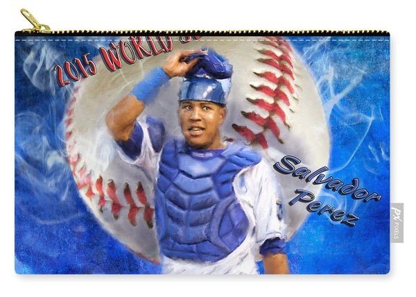 Salvador Perez 2015 World Series Mvp Carry-all Pouch