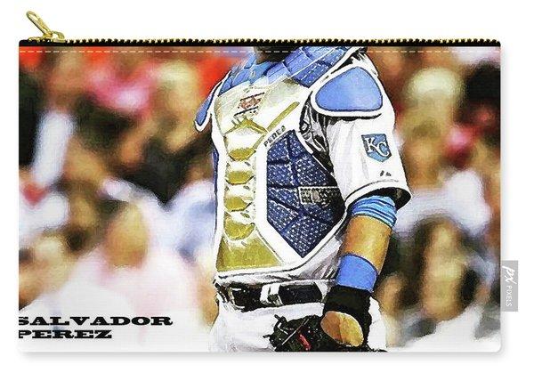 Salvador Perez, Kansas City Royals Carry-all Pouch
