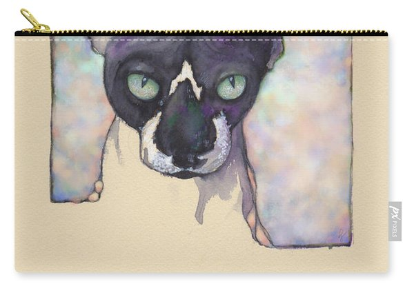 Sam The Sphynx Carry-all Pouch